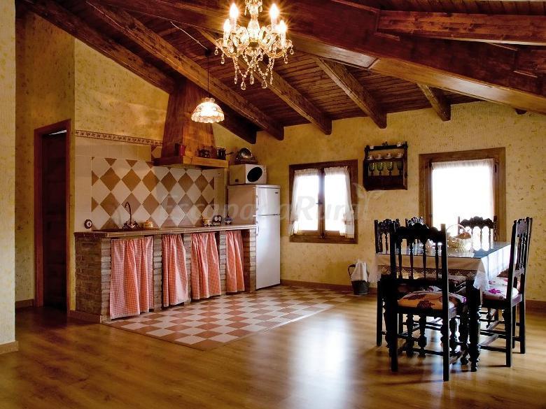 Fotos de villa de vera casa rural en vera de moncayo for Cocinas rurales
