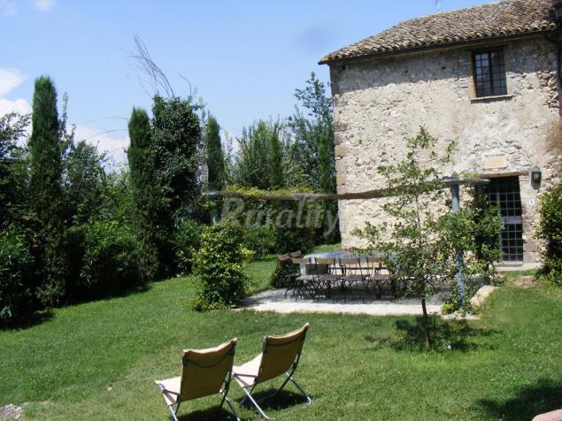 La polverosa casa rural en castiglione in teverina viterbo - Casali antichi ristrutturati ...