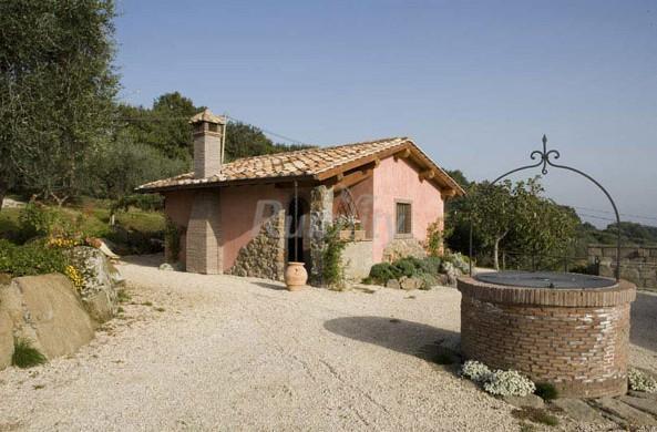 Casali della panunta casa rural en soriano nel cimino for Interni casali ristrutturati