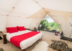Tenda Glamping (Interior)