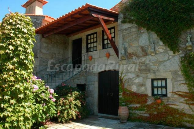 C mo llegar a casa da reina casa rural en chaf alto minho - Casas rurales norte de portugal ...