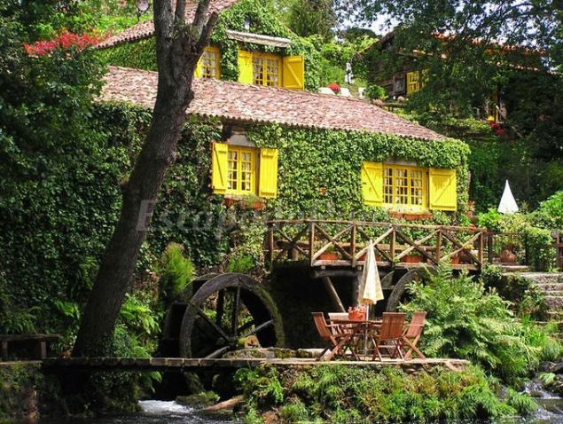 Casas da azenha casa rural en vila nova de cerveira alto minho - Casa rural lisboa ...